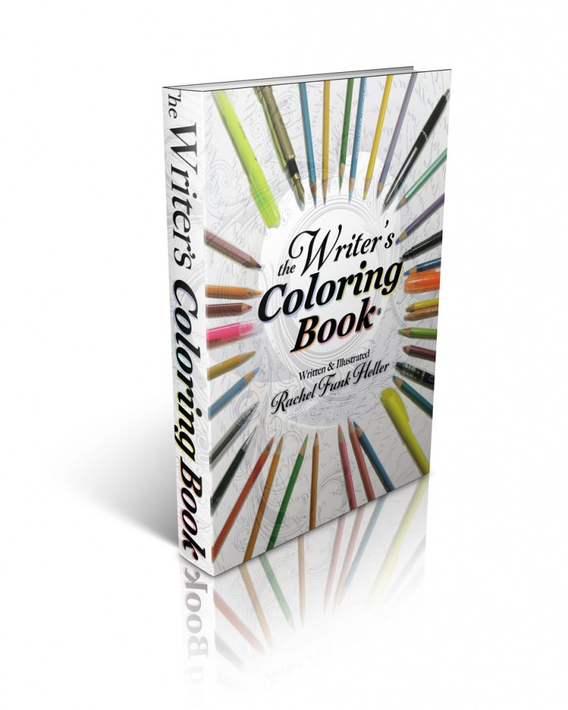 The Writer's Coloring Book by Rachel Funk Heller