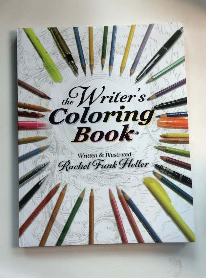 The Writer's Coloring Book Paperback